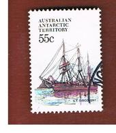 TERRITORI ANTARTICI AUSTRALIANI (AAT AUSTRALIAN ANTARCTIC TERRITORY) SG 51 - 1979 SHIPS: DISCOVERY II   -  USED - Usati