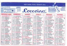 Advertising-pubblicità Su CALENDARIETTO TASCABILE 2008 Prodotti Per Ufficio - Formato Piccolo : 1991-00