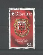 Gibraltar 2013 54th UEFA Member Y.T. 1546 (0) - Gibraltar
