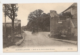 78 Maisons Laffitte, Sortie Sur La Foret De Saint Germain (A4p11) - Maisons-Laffitte