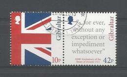 Gibraltar 2013 300th Anniv. Of Utrecht Treaty Y.T. 1547/1548 (0) - Gibraltar