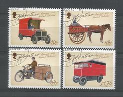 Gibraltar 2013 Europa Postal Vehicles Y.T. 1549/1552 (0) - Gibraltar