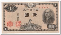 JAPAN,1 YEN,1946,P.85,UNC - Japan