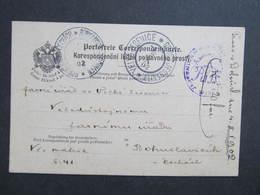 Korrespondenzkarte Velka Jesenice - Bohuslavice 1902////  D*33547 - Briefe U. Dokumente