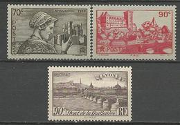 SERIE N° 448 à 450 GOM D'ORIGINE NEUF** LUXE SANS CHARNIERE / MNH - Unused Stamps