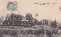 62. ARRAS. CPA ... LE PASSAGE A NIVEAU D'ACHICOURT. ANNÉE 1905 - Arras