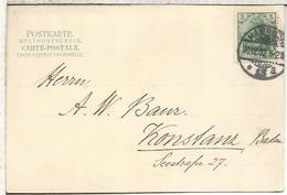 ALEMANIA 1902 TO DAMPFER DEUTSCHLAND MAT HAMBURG SHIP - Cartas