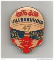 47 - VILLENEUVE-SUR-LOT . MOTO CLUB VILLENEUVOIS . MÉDAILLE CONCENTRATION MOTO - Réf. N°19M - - Motos