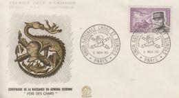 Enveloppe   FDC  1er Jour    FRANCE   Général  ESTIENNE   PARIS   1960 - 1960-1969