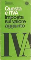 VALLECCHI EDITORE - QUESTA E' L'IVA - Libri, Riviste, Fumetti