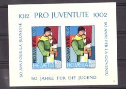"Suisse - 1962 - BF N° 18 - Neuf ** - 50 Ans ""Pro Juventute"" - Blocs & Feuillets"