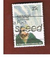 TERRITORI ANTARTICI AUSTRALIANI (AAT AUSTRALIAN ANTARCTIC TERRITORY) SG 53 - 1982 D. MAWSON   -  USED - Usati