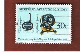 AAT AUSTRALIAN ANTARCTIC TERRITORY - SG 61 - 1984 MAGNETIC POLE EXPEDITION  -  USED - Territorio Antartico Australiano (AAT)