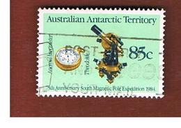 AAT AUSTRALIAN ANTARCTIC TERRITORY - SG 62 - 1984 MAGNETIC POLE EXPEDITION  -  USED - Territorio Antartico Australiano (AAT)