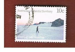 AAT AUSTRALIAN ANTARCTIC TERRITORY - SG 65 - 1984 ANTARCTIC SCENES: EVENING LATE SUMMER  -  USED - Usati