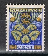Niederlande 195 Postfrisch - 15 Cent Provinzwappen 1926, Friesland - 1891-1948 (Wilhelmine)