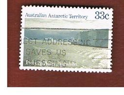 AAT AUSTRALIAN ANTARCTIC TERRITORY - SG 70 - 1984 ANTARCTIC SCENES: ICEBERG ALLEY  -  USED - Territorio Antartico Australiano (AAT)