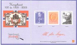Norway 2005 Royal House 100 Year, Souvenirbloc, Unused - Norvège