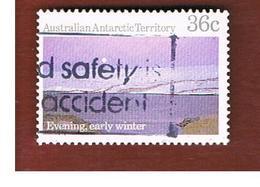 AAT AUSTRALIAN ANTARCTIC TERRITORY - SG 71 - 1984 ANTARCTIC SCENES: EARLY WINTER  -  USED - Usati