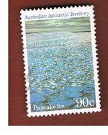 AAT AUSTRALIAN ANTARCTIC TERRITORY - SG 76 - 1984 ANTARCTIC SCENES: ICE  -  USED - Usati