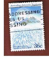 AAT AUSTRALIAN ANTARCTIC TERRITORY - SG 78 - 1986 SNOWED MOUNTAINS  -  USED - Territorio Antartico Australiano (AAT)