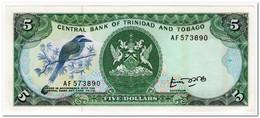 TRINIDAD & TOBAGO,5 DOLLARS,1985,P.37,UNC - Trinité & Tobago