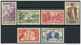 New Caledonia 1937. Michel #200/05 MNH/Luxe. Ships. (Ts15) - 1937 Exposition Internationale De Paris