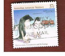 AAT AUSTRALIAN ANTARCTIC TERRITORY - SG 82 - 1988 ADELIE PENGUINS  -  USED - Territorio Antartico Australiano (AAT)