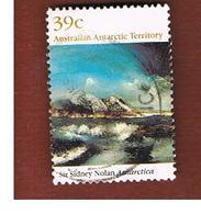 AAT AUSTRALIAN ANTARCTIC TERRITORY - SG 84  - 1988 PAINTINGS: SIR S. NOLAN  -  USED - Territorio Antartico Australiano (AAT)