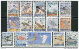 Turks & Caicos Isl. 1995. Michel #1245/59 MNH/Luxe. Birds (Ts17/B25) - Turks And Caicos