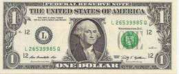 USA  1 Dollar  2009  UNC - Billets De La Federal Reserve (1928-...)