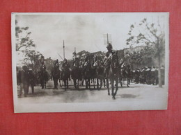 RPPC  To ID Military Men On Horseback    Ref 3016 - Postcards