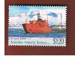 "AAT (AUSTRALIAN ANTARCTIC TERRITORY) - SG 89 - 1991 SHIP ""AURORA ASTRALIS""   -  USED - Usati"