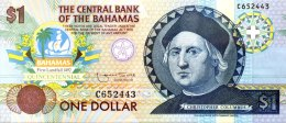 Bahamas 1 Dollar, P-50a (1984) UNC - Bahamas
