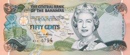 Bahamas 1/2 Dollar, P-68 (2001) UNC - Bahamas