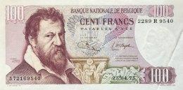 Belgium 100 Francs, P-134b (25.4.1975) EF/XF - [ 2] 1831-...: Belg. Königreich