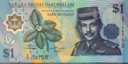 Brunei 1 Ringgit, P-22a (1996) UNC - Brunei