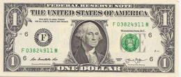 USA  1 Dollar  2013  UNC - Billets De La Federal Reserve (1928-...)