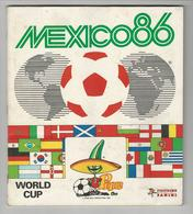 Complete Collection Stickers World Cup Mexico 86 Panini Some Written First Pages - Engelse Uitgave