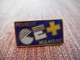 A001 -- Pin's Peugeot CE Mulhouse - Peugeot