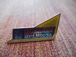 A001 -- Pin's Peugeot Qualité Mulhouse - Peugeot