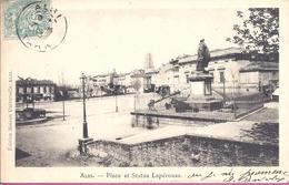 -81-     ALBI -- PLACE DE LA STATUE LAPEROUSE  -- 1903 - Albi