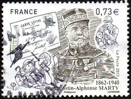 Oblitération Cachet à Date Sur Timbre De France N° 5190 Inspecteur Général Des PTT - Augustin-Alphonse Marty - Frankreich