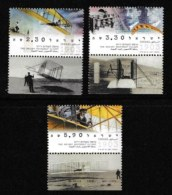 ISRAEL, 2003, Mint Never Hinged Stamp(s) , The Wright Brothers, M1716--1718,  Scan M17218, With Tab(s) - Israel