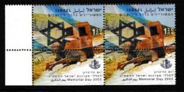ISRAEL, 2003, Mint Never Hinged Stamp(s) , Memorial Day, M1722,  Scan M17226, With Tab(s) - Israel