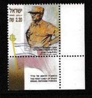 ISRAEL, 2003, Mint Never Hinged Stamp(s) , Ya'akov Dori, M1727,  Scan M17236, With Tab(s) - Israel