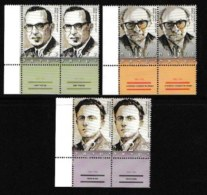 ISRAEL, 2004, Mint Never Hinged Stamp(s) , Historians, Michel Nr. Not Known, Scan M17262, With Tab(s) - Israel