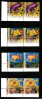 ISRAEL, 2004, Mint Never Hinged Stamp(s) , Red Sea Fishes, Michel Nr. Not Known, Scan M17263 With Tab(s) - Israel