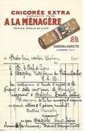 Facture 1/2 Format 193? / NORD / CAMBRAI / Chicorée DUROYON & RAMETTE - France