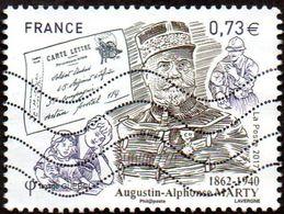 Oblitération Moderne Sur Timbre De France N° 5190 Inspecteur Général Des PTT - Augustin-Alphonse Marty - France